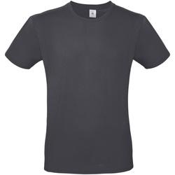 Textiel Heren T-shirts korte mouwen B And C TU01T Donkergrijs