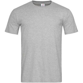 Textiel Heren T-shirts korte mouwen Stedman  Grijs