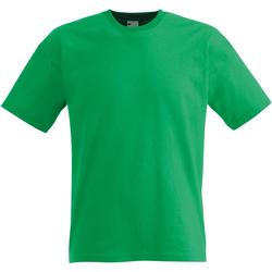 Textiel Heren T-shirts korte mouwen Universal Textiles Casual Helder groen