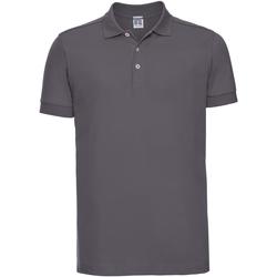 Textiel Heren Polo's korte mouwen Russell 566M Konvooi Grijs
