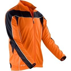 Textiel Heren Trainings jassen Spiro Performance Oranje/ Zwart