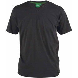 Textiel Heren T-shirts korte mouwen Duke Signature Zwart