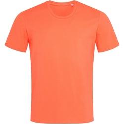 Textiel Heren T-shirts korte mouwen Stedman  Zalmroze
