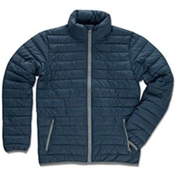 Textiel Heren Dons gevoerde jassen Stedman  Donkerblauw
