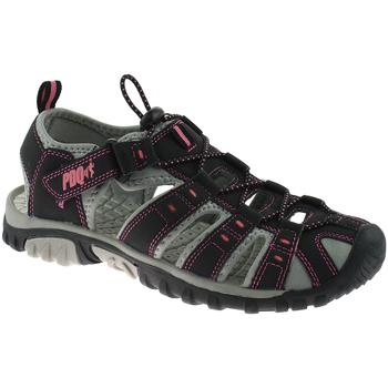 Schoenen Dames Outdoorsandalen Pdq Toggle Zwart/roze