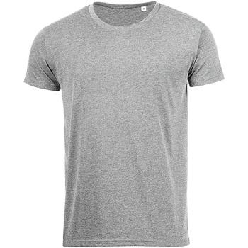 Textiel Heren T-shirts korte mouwen Sols 01182 Grijze Mergel