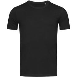Textiel Heren T-shirts korte mouwen Stedman Stars Morgan Zwart