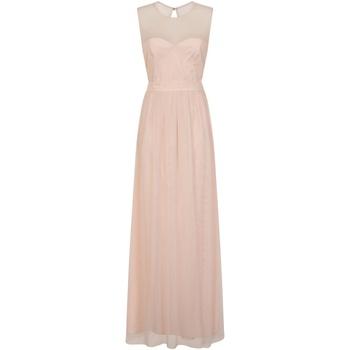 Textiel Dames Lange jurken Little Mistress Mesh Roze