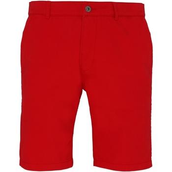 Textiel Heren Korte broeken / Bermuda's Asquith & Fox Chino Kersenrood