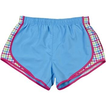 Textiel Dames Korte broeken / Bermuda's Boxercraft Velocity Saffier / Plaid