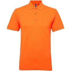 Textiel Dames Polo's korte mouwen Asquith & Fox AQ025 Neon Oranje
