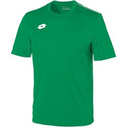 Textiel Kinderen T-shirts korte mouwen Lotto LT26B Gras/Wit