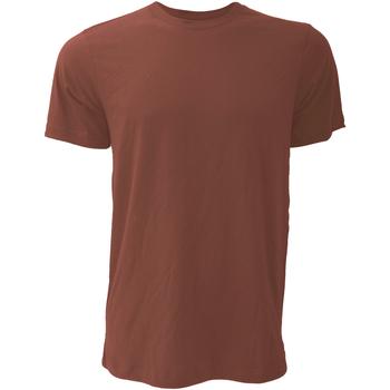 Textiel Heren T-shirts korte mouwen Bella + Canvas Jersey Heather Klei