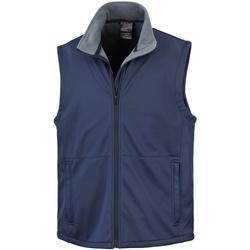 Textiel Heren Vesten / Cardigans Result Soft Shell Marineblauw