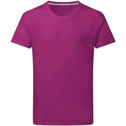 Textiel Heren T-shirts korte mouwen Sg Perfect Donkerroze