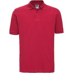 Textiel Heren Polo's korte mouwen Russell 569M Klassiek rood