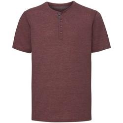 Textiel Heren T-shirts korte mouwen Russell Henley Marl