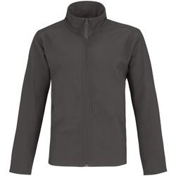 Textiel Heren Trainings jassen B And C Two Layer Donkergrijs / Neon Oranje