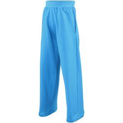 Textiel Kinderen Trainingsbroeken Awdis  Saffierblauw