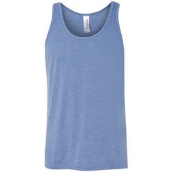 Textiel Dames Mouwloze tops Bella + Canvas Jersey Blauwe Triblend