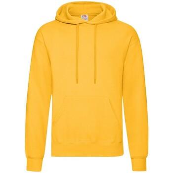 Textiel Heren Sweaters / Sweatshirts Fruit Of The Loom Hooded Zonnebloem Geel