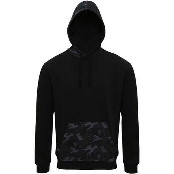 Textiel Heren Sweaters / Sweatshirts Asquith & Fox Camo Zwart/Grijze Camo