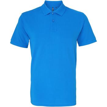 Textiel Heren Polo's korte mouwen Asquith & Fox AQ010 Saffier