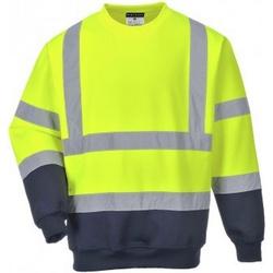 Textiel Heren Sweaters / Sweatshirts Portwest PW668 Geel/Zwaar