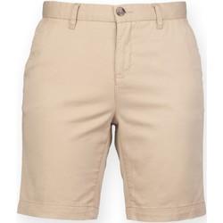 Textiel Dames Korte broeken / Bermuda's Front Row Chino Steen