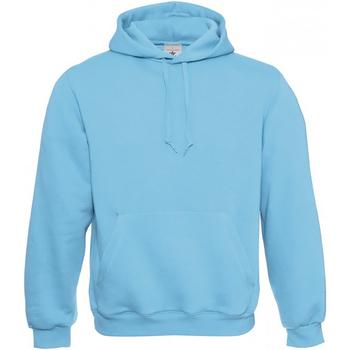Textiel Heren Sweaters / Sweatshirts B And C Hooded Very Turkoois
