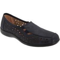 Schoenen Dames Mocassins Boulevard Gusset Marineblauw