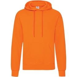 Textiel Heren Sweaters / Sweatshirts Fruit Of The Loom Hooded Oranje