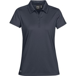 Textiel Dames Polo's korte mouwen Stormtech Pique Marineblauw