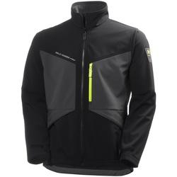 Textiel Heren Wind jackets Helly Hansen 74051 Jet Zwart/Donkergrijs