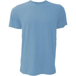 Textiel Heren T-shirts korte mouwen Bella + Canvas Jersey Heather Columbia Blauw