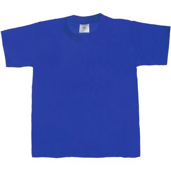 Textiel Kinderen T-shirts korte mouwen B And C Exact 190 Koninklijk