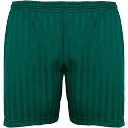 Textiel Kinderen Korte broeken / Bermuda's Maddins Stripe Fles groen