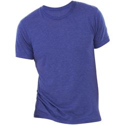 Textiel Heren T-shirts korte mouwen Bella + Canvas Triblend Marine Triblend