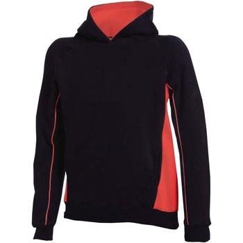 Textiel Kinderen Sweaters / Sweatshirts Finden & Hales Hooded Zwart/Rood