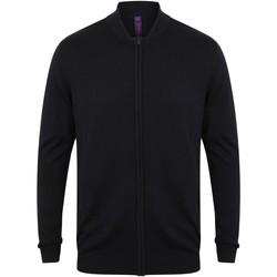 Textiel Vesten / Cardigans Henbury HB718 Marine