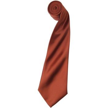 Textiel Heren Krawatte und Accessoires Premier Satin Kastanje