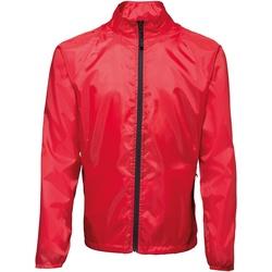 Textiel Heren Windjacken 2786  Rood/ Zwart