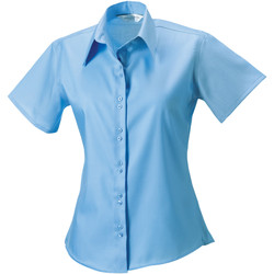 Textiel Dames Overhemden Russell 957F Heldere lucht