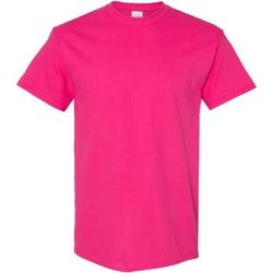 Textiel Heren T-shirts korte mouwen Gildan Heavy Heliconia