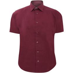 Textiel Heren Overhemden korte mouwen Russell 947M Haven