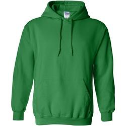 Textiel Sweaters / Sweatshirts Gildan Hooded Iers Groen