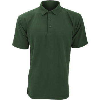 Textiel Heren Polo's korte mouwen Ultimate Clothing Collection UCC003 Fles groen