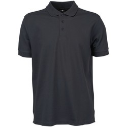 Textiel Heren Polo's korte mouwen Tee Jays Stretch Donkergrijs