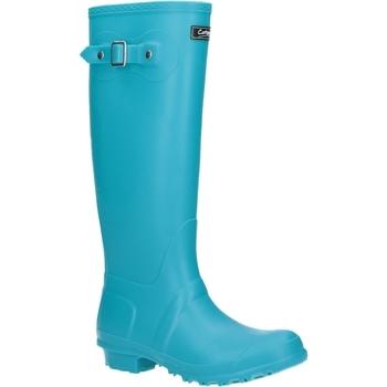Schoenen Dames Regenlaarzen Cotswold Sandringham Turquoise