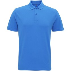 Textiel Heren Polo's korte mouwen Asquith & Fox Vintage Paleisblauw